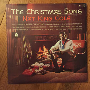 Nat King Cole - The Christmas Song LP Capitol SM-1967 Joy I Saw Three Ships VG+   eBay