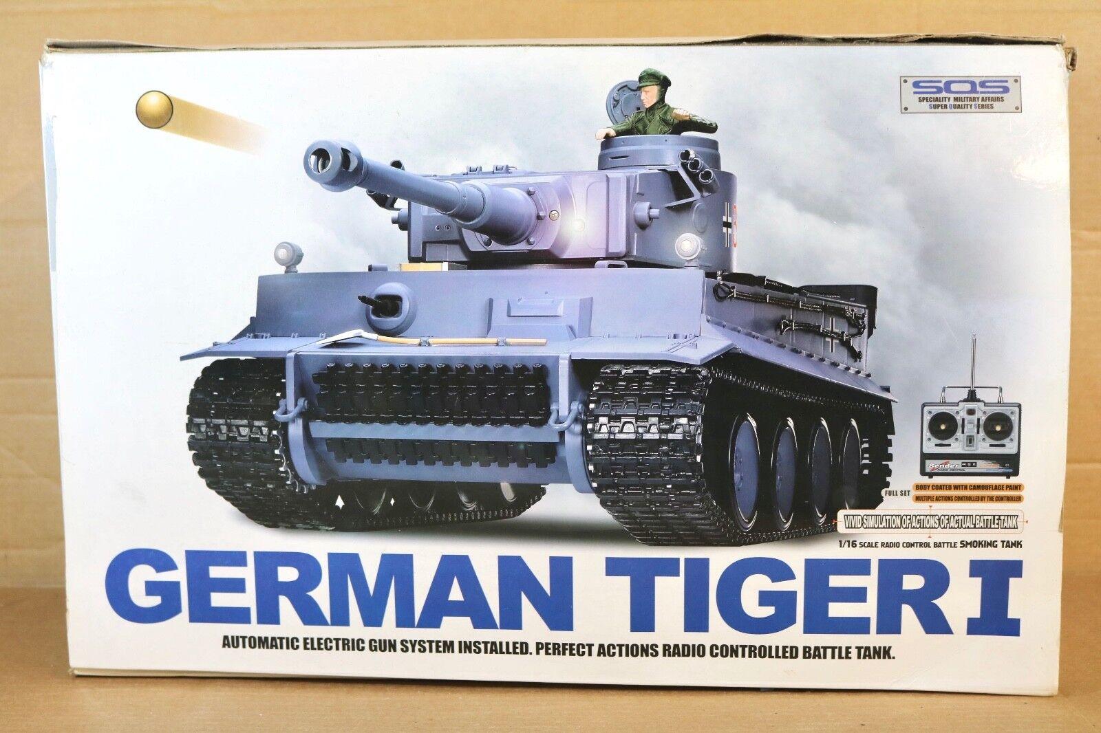 Heng lungo 3818-1 Radiocouomodo  Seconda Guerra Mondiale Tedesco Tiger I  spedizione e scambi gratuiti.