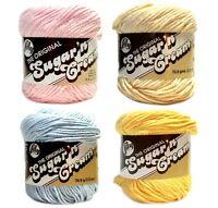 Sugar 'n Cream Yarn Baby Pink Powder Blue Cream Yellow Rare Your Choice