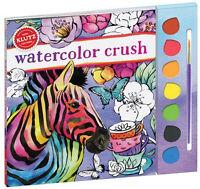 Watercolor Crush - Kids Premium Watercolor Painting Klutz Art & Activity Kit
