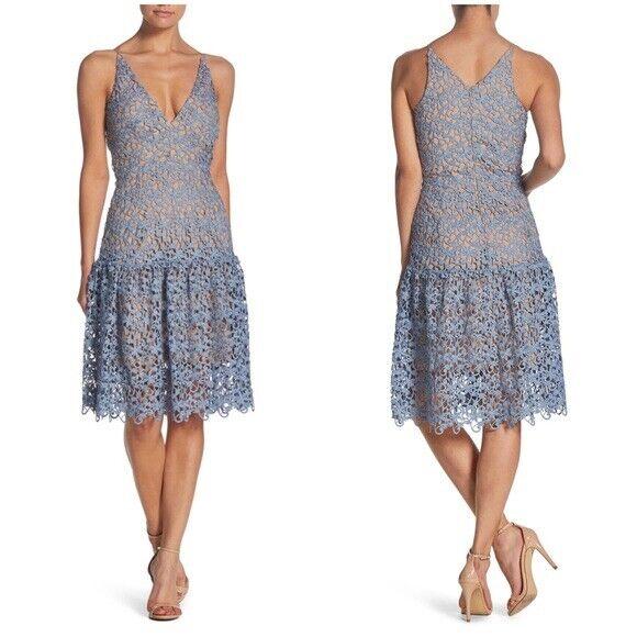 """Vestido Vestido de crochet el Population Lily Talla  L Longitud 47""""  exclusivo"""