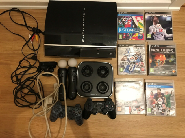 Playstation 3, God, Playstation med tilbehør som på…