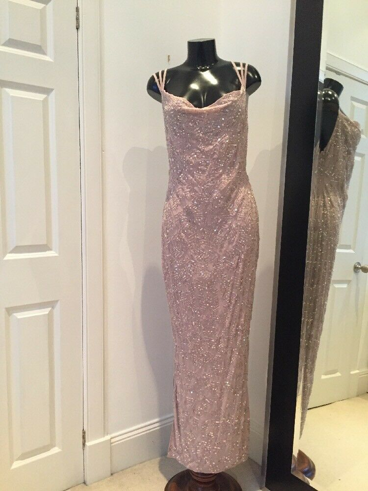 BNWT Debut Beaded Evening Gown 12
