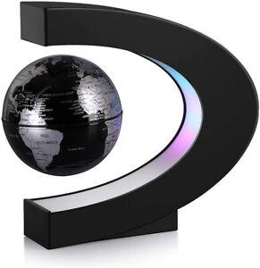 "NEW Magnetic Levitator Globe LED Lights Floating Map Of The World Desk Lamp 3.5"""