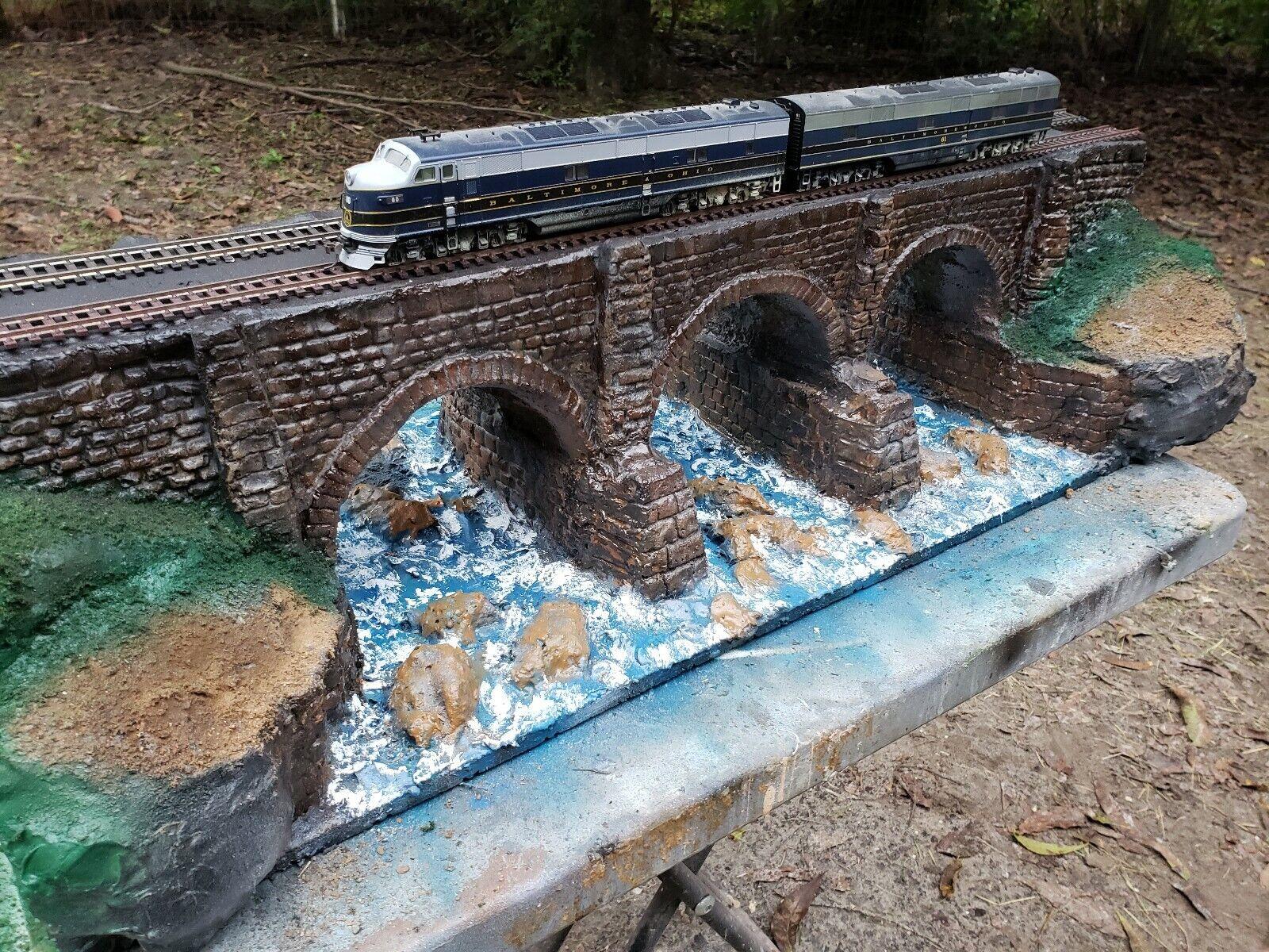 B&O RR, Bloomington viaduct, Circa 1853', HO gauge, MAO @  375.00    last call