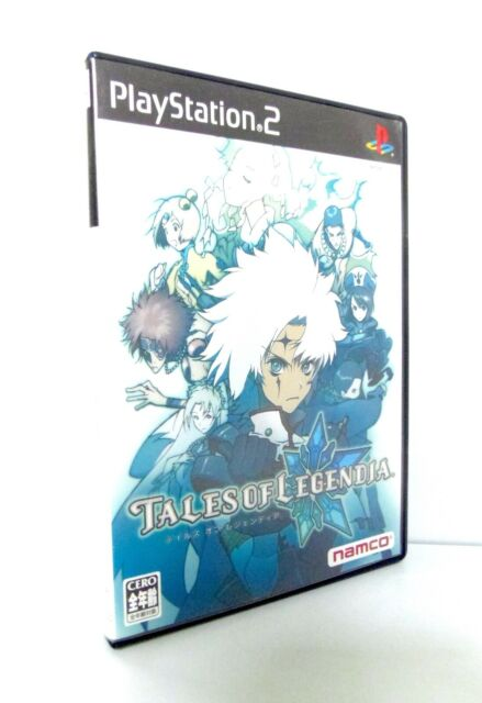 TALES OF LEGENDIA Sony Playstation 2 PS2 Japan