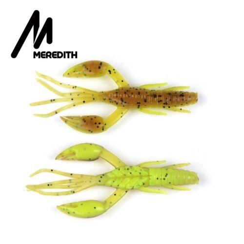 MEREDITH 5cm 2g 20pcs DoliveCraw Fishing Lures Craws Shrimp Soft Lure Fishing