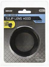 Bower 52mm Pro Series II Tulip Lens Hood fits most 52mm Lenses