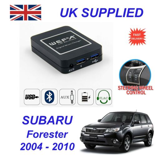 For Subaru Forester Music Streaming 4.0 Bluetooth Telephone CDAUX Digital Module
