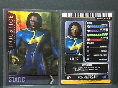 Static Foil Injustice Series 2 Arcade Card Raw Thrills 86//110 HOLO