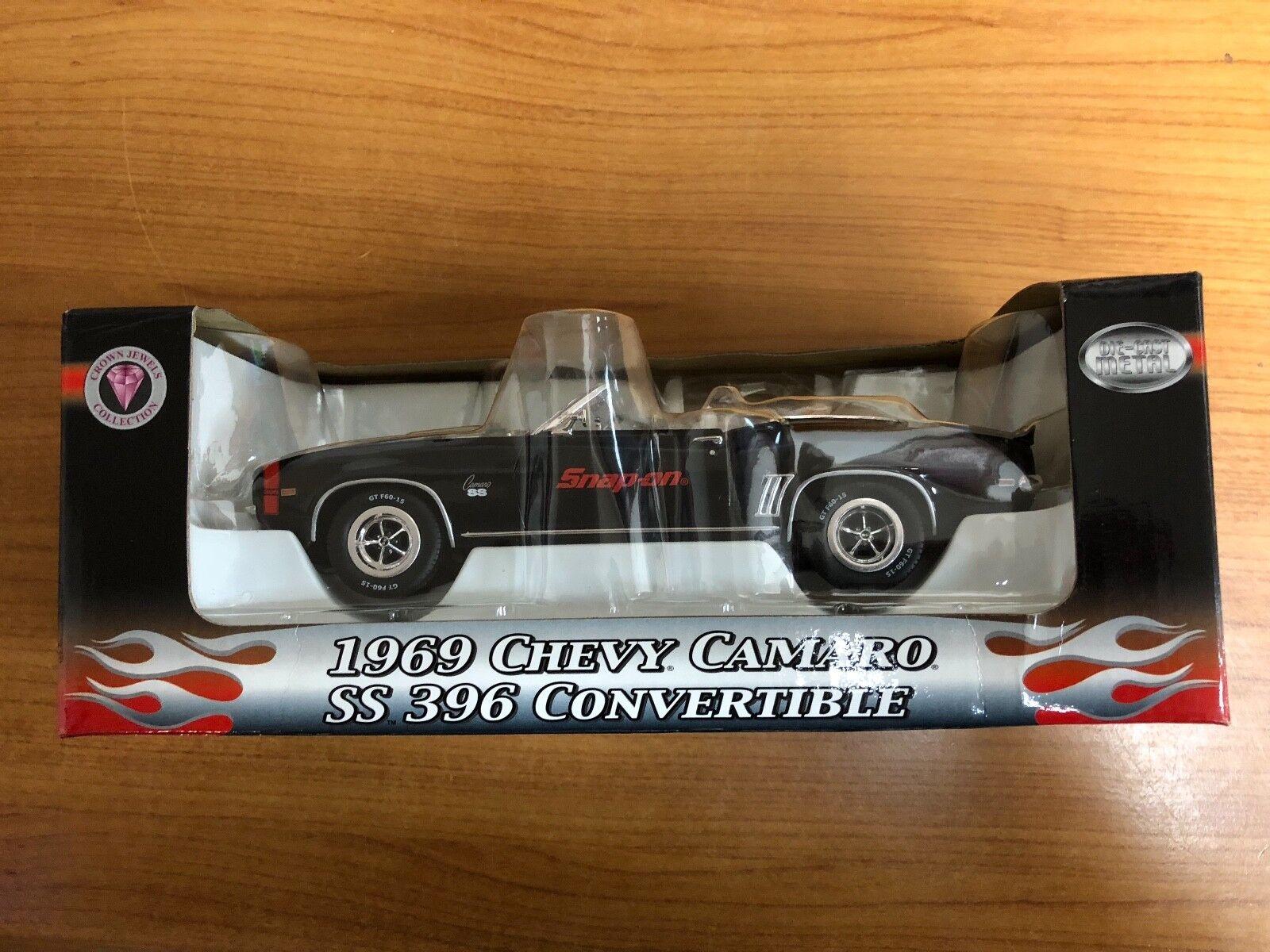mejor opcion Snap on 1969 Chevy Camaro Ss Ss Ss 396 1 24 Scale Die Cast  a la venta