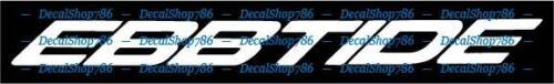 Car//SUV//Truck Vinyl Die-Cut Peel N/' Stick Decals Ebbtide Boats Outdoor Sports