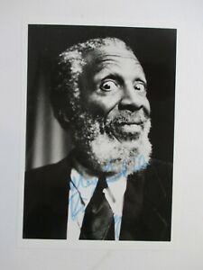 SIGNED Dick Gregory 5x7 Photo AUTOGRAPHED Picture Comedian Civil Rights Activist