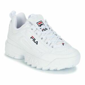 Fila Disruptor II Sneakers bianche con plateau a zeppa