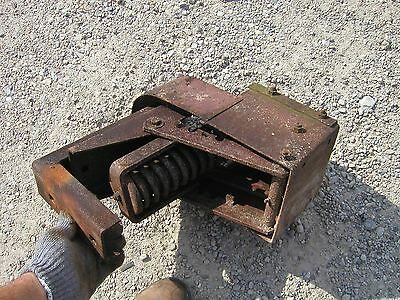 IH Farmall B Tractor easy rider seat base assembly mounts to rear foot platform