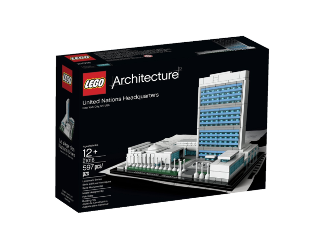 LEGO 21018 Architecture United Nations Headquarters   BRAND NEW