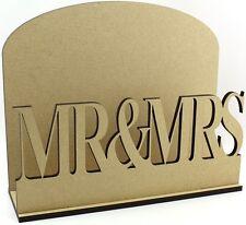 El Sr. & sra. carta CORREO Post Rack Mdf Regalo de Boda Idea de Regalo