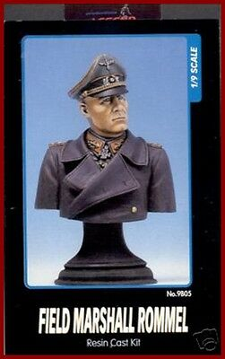Legend Productions Field Marshall Rommel Bust 1/9 Model Kit