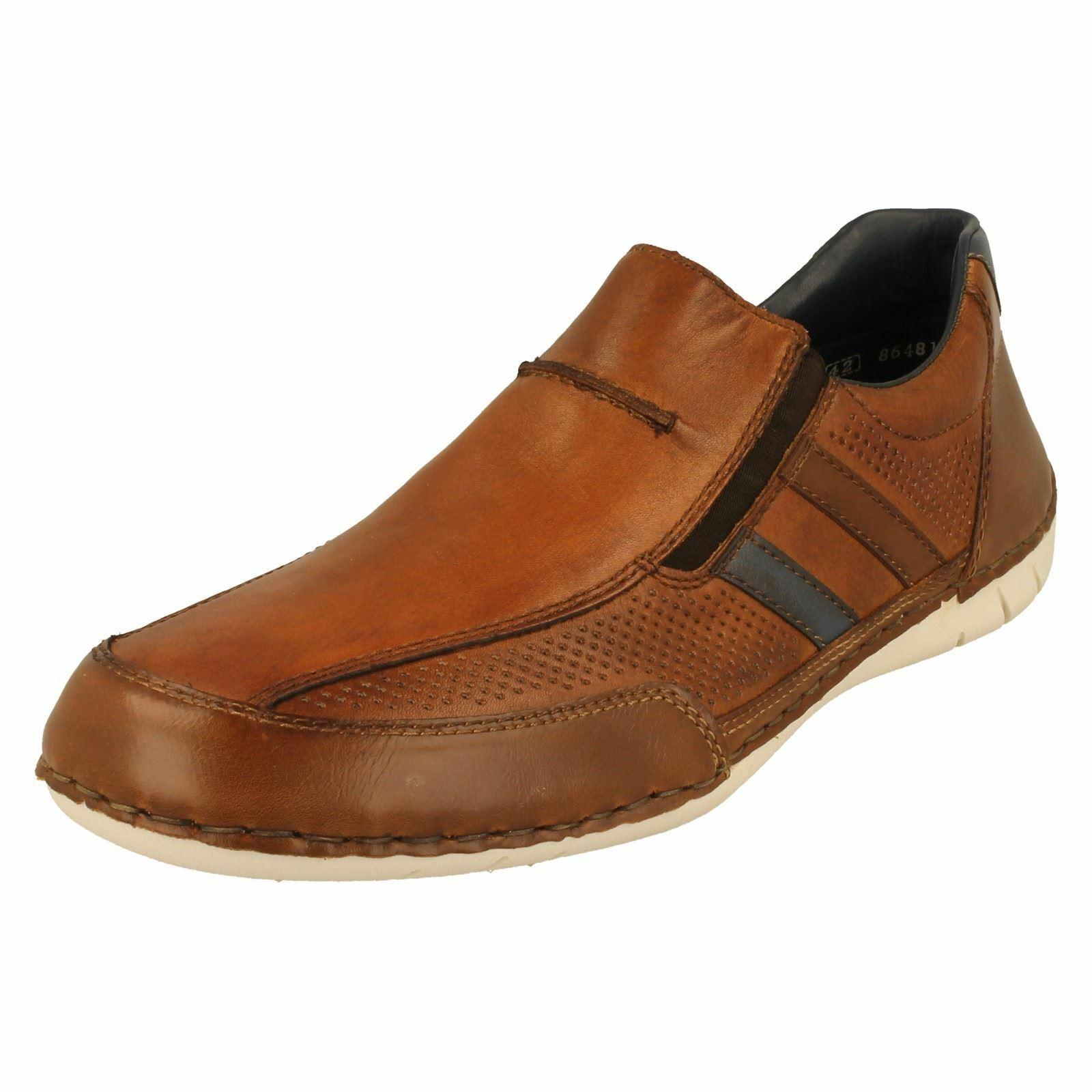 Mens Rieker Casual Slip On shoes B8256