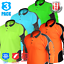 3x-HI-VIS-POLO-SHIRT-PANEL-WITH-PIPING-FLUORO-WORK-WEAR-COOL-DRY-LONG-SLEEVE thumbnail 1