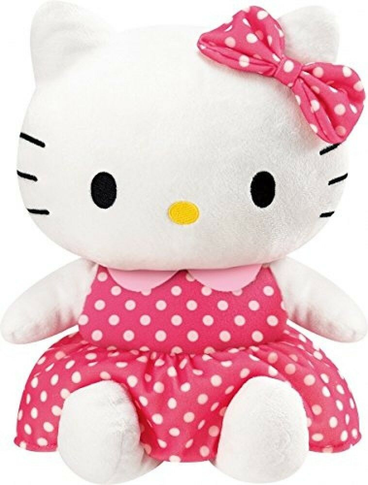 FriendlyHelloKitty Repeating Plush Doll - Sanrio  cuddly kids toy JAPAN A848