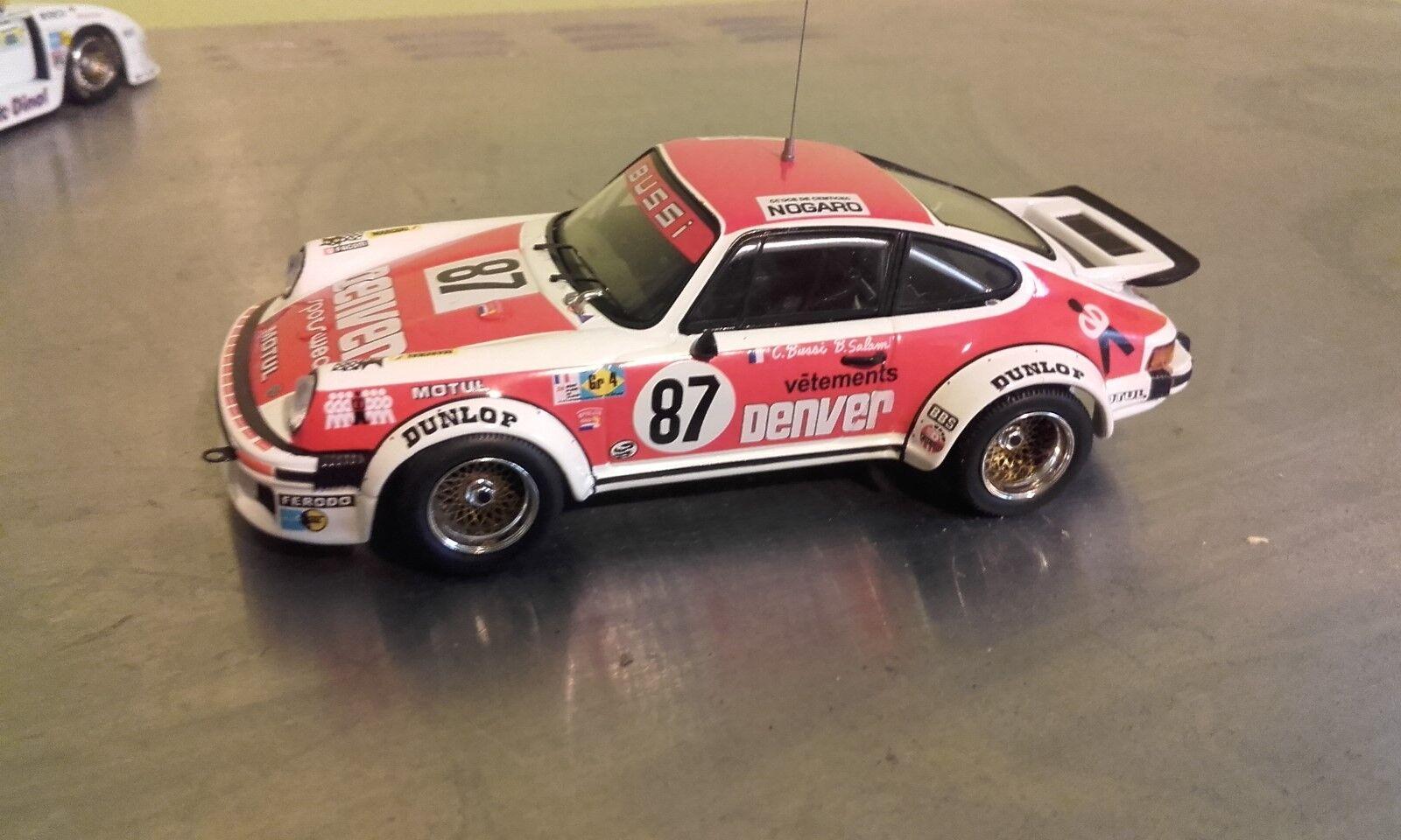 Porsche 934 24 heures du mans 1979 bussi salam 1 43