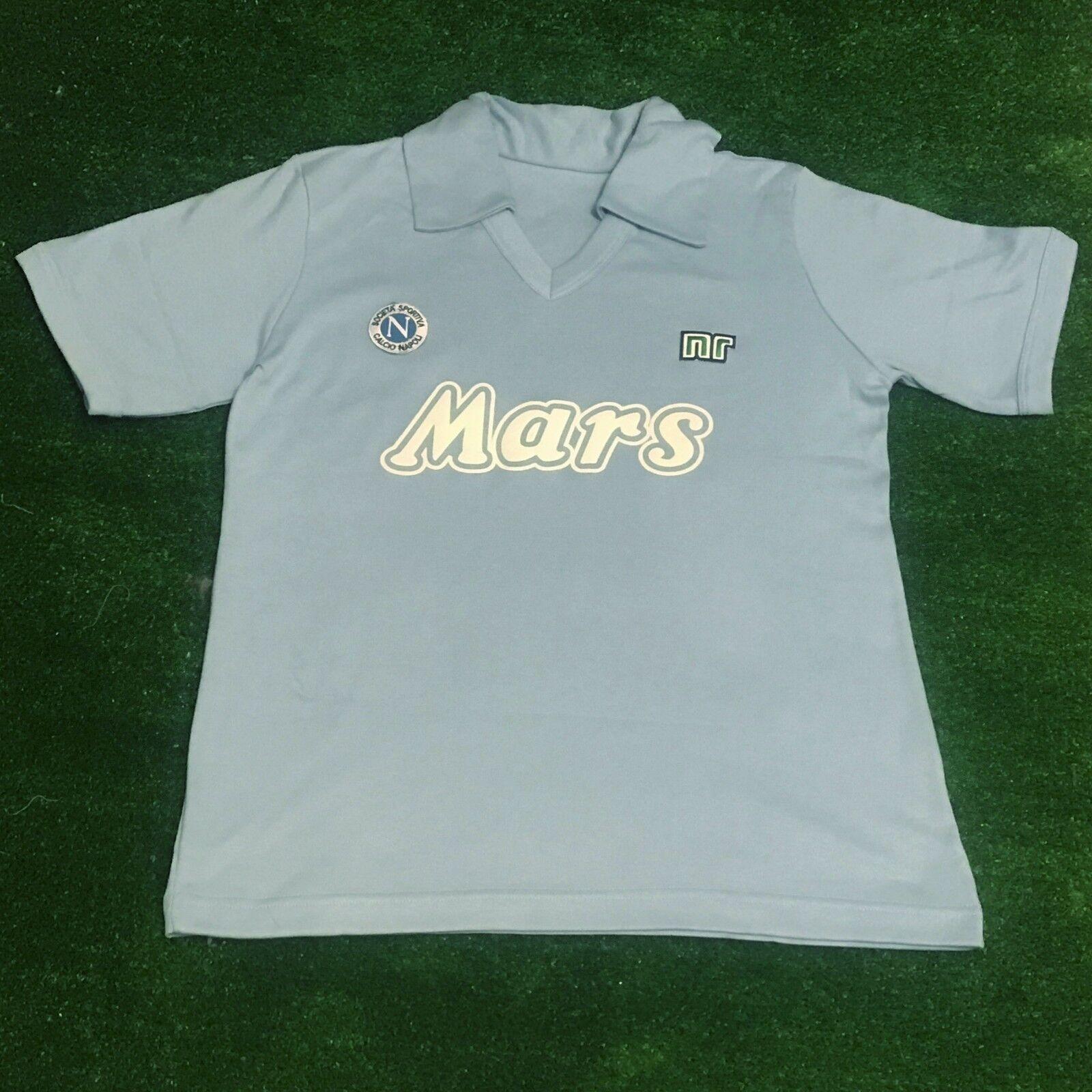 Maradona Napoli Mars Retro Scudetto 1988 1988 1988 Soccer Jersey 0ccd3a