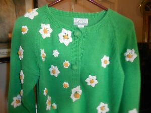 Vintage-Tanner-Collection-Women-039-s-Daisy-Sweater