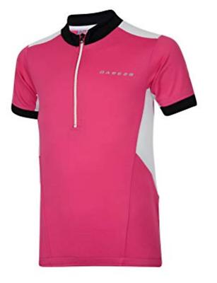 Dare2b Hotfoot Kids Cycle Jersey Active T-Shirt Girls Boys Cycling Top DKT018