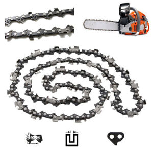 16 Types 10/'/' 12/'/' 14/'/' 16/'/' 18/'/' 20/'/' Chainsaw Chain Blade Replacement Saw Part
