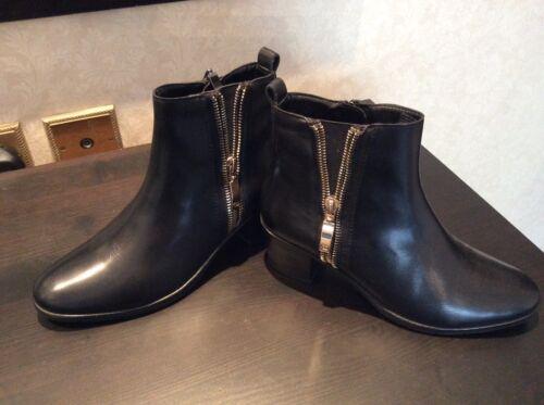 Taille 36 Bottines en Gerry cuir neuves Weber noires 0Y01qF