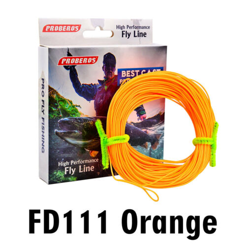 100FT Fly Line WF-2F//3F//4F//5F//6F//7F//8F Weight Forward Floating Fly Fishing Line