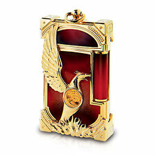 ST DUPONT PHOENIX RENAISSANCE LINGE LINE 2 LIMITED EDITION GOLD LIGHTER RED LACQ