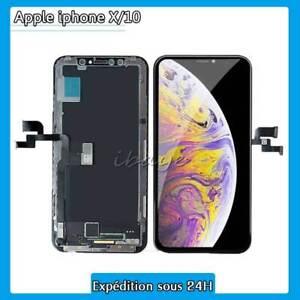 Ecran Complet Pour iPhone X Vitre Tactile + Écran LCD OLED Original Sur Chassis