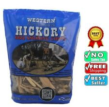 Bbq-Smoking-Chips-Western-78075-Hickory-For-Grills-Smokers-100-Natural-Wood-New