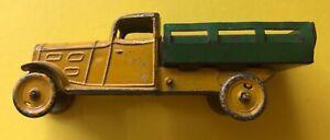 Jouet Ancien Camion Laitier Sans Pots Autajon Et Roustan