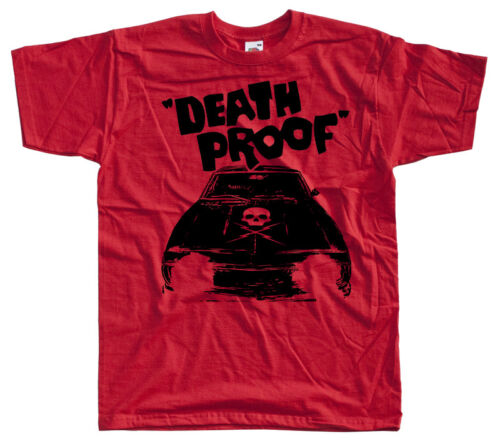 movie poster Quentin Tarantino T SHIRT WHITE all sizes S-5XL Death Proof V1