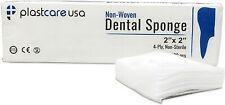 5000 2x2 Inch 4 Ply Non Woven Sponges Non Sterile Dental Gauze 1 Case
