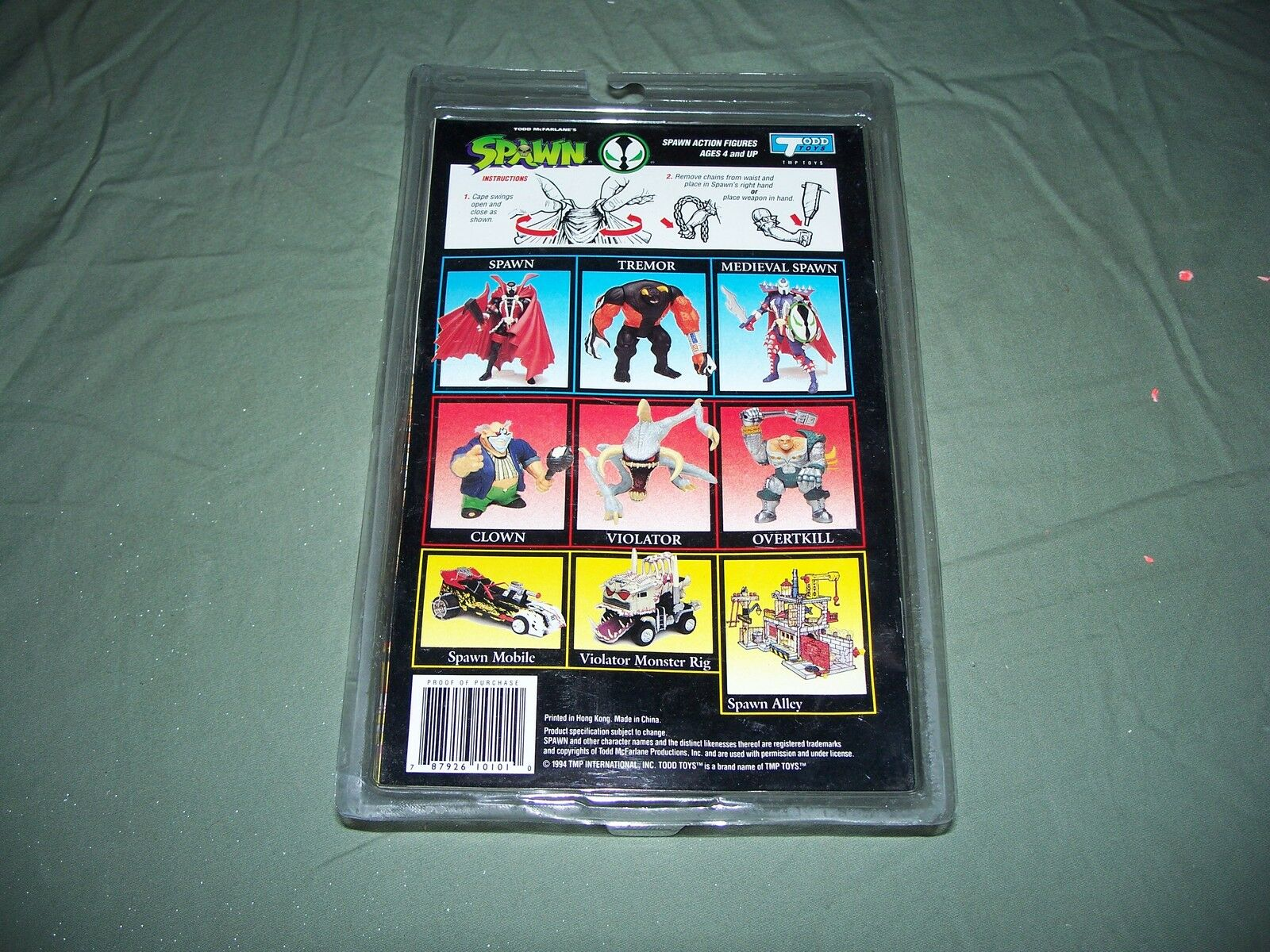 NIB Spawn Overkill Special Edition 1994 1994 1994 Todd Toys & Comic Book 917113