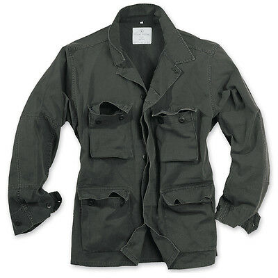 SURPLUS Raw Vintage BDU BW JACKE M65 Feldjacke US Army Jacket washed Military