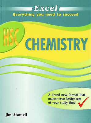 1 of 1 - Excel HSC Chemistry by Jim Stamell (Paperback, 2008)