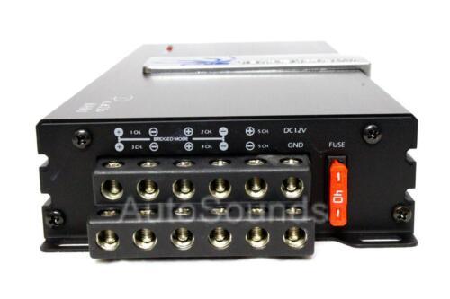 Soundstream PN5.640D Small Nano 640 W 5-Channel Car Motorcycle Audio Amplifier