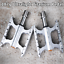 TITO Titanium Cycling Bicycle Pedal Silver MTB Road Bike Pedals DU Bearings 187g