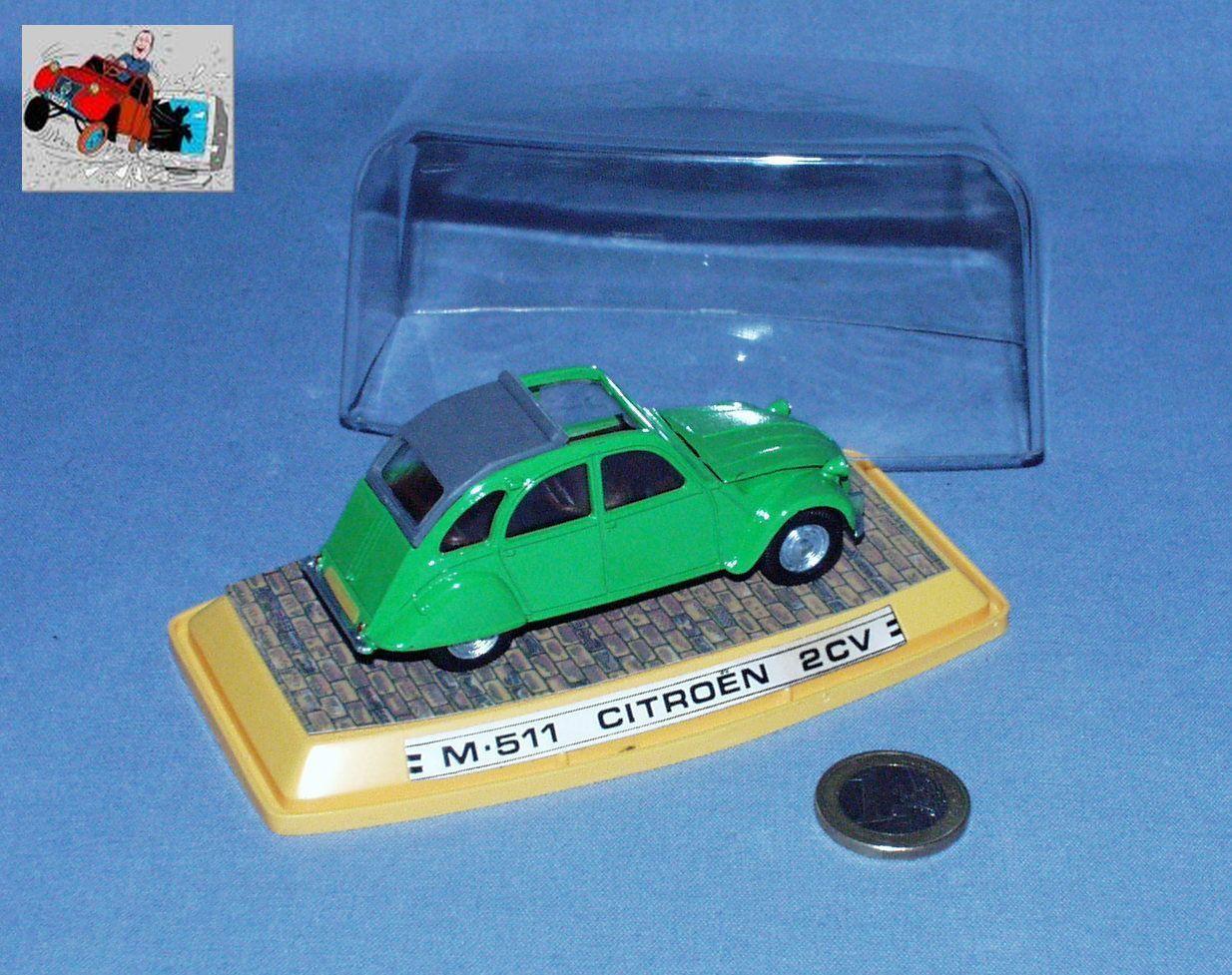 suministramos lo mejor Auto Pilen (Ex Dinky France) réf M-511     Citroen 2cv Berline (verdee)  compras en linea