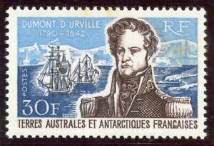 Nouvelle Mode T.a.a.f. / Timbre Terres Australes / Dumont D'urville // N° 25 * Cote 205 €