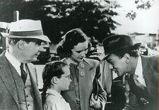JOSEPH COTTEN  PATRICIA COLLINGE SHADOW OF A DOUBT 1943 VINTAGE PHOTO HITCHCOCK