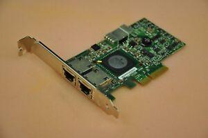 Dell-Broadcom-5709-Dual-Port-PCIe-10-100-1000-Gigabit-Network-Card-D-PN-0G218C