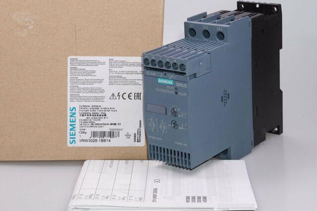 SIEMENS 3RW3028-1BB14  SIRIUS Sanftstarter S0 38 A, 18,5 kW/400 V  OVP, NEU