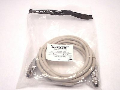 Black Box Network Services Db9 Extension Cable with EMI//rfi Hoods