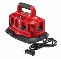 Milwaukee 48-59-1806 M18 Six Pack Sequential Cordless Bay Battery Charger